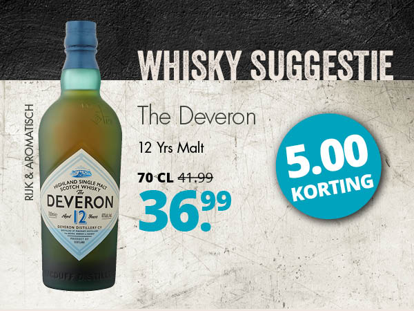 Whiskysuggestie The Deveron