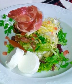 Grampian Salad bereid met Auchentoshan 3 Wood Lowland Malt Whisky