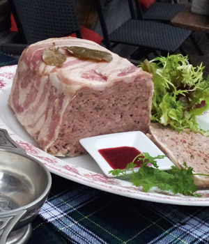 Traditional  Scottish Paté
