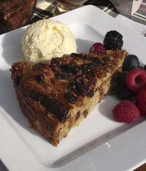 Glenfarclas marmelade pudding