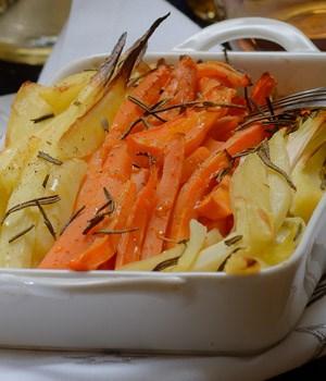 Pastinaak, wortel en prei Lekkere, gezonde hap