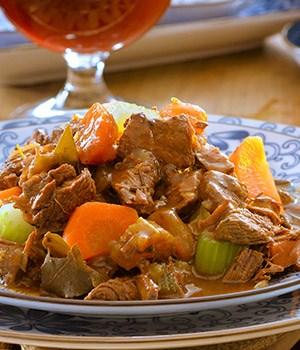 Rundvlees stoofschotel met rozemarijn