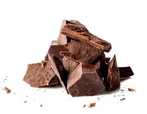 Pure chocolade  brokken