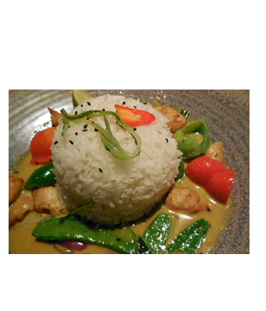 Kipdijenfilet met Thaise curry