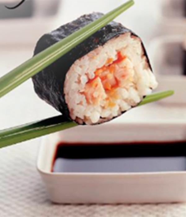 Sushi met kip