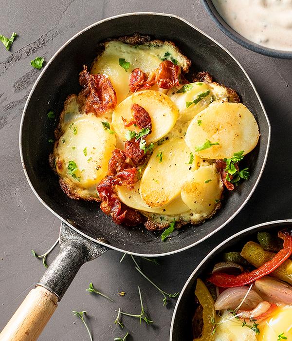 Tortilla van aardappel en serranoham Gourmet
