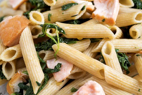 Romige pasta met paddestoelen