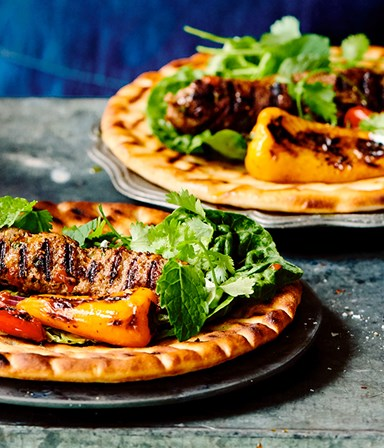 Kebab met flatbread