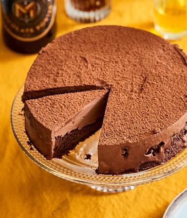 Dubbel chocoladetaartje