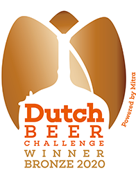 Dutch Beer Challenge Brons 2020